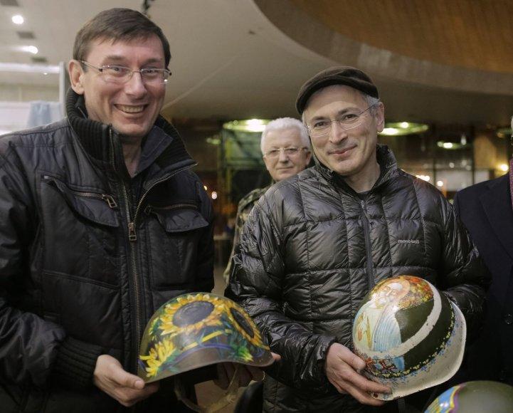 Michailas Chodorkovskis Kijeve