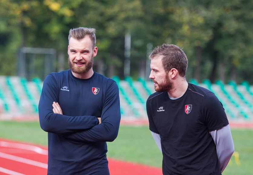 Antanas Kavalaiuskas ir Martynas Gecevičius