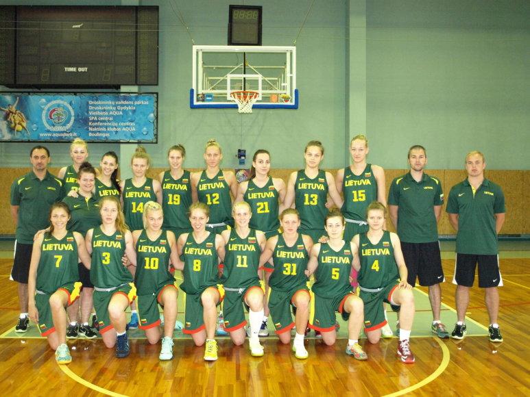 Lietuvos merginų U-20 rinktinė