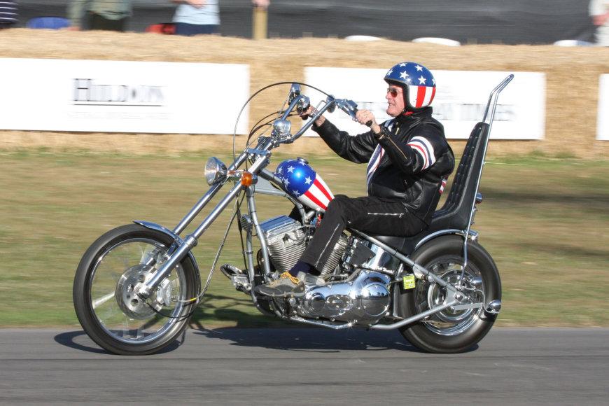 """Captain America"" motociklas"