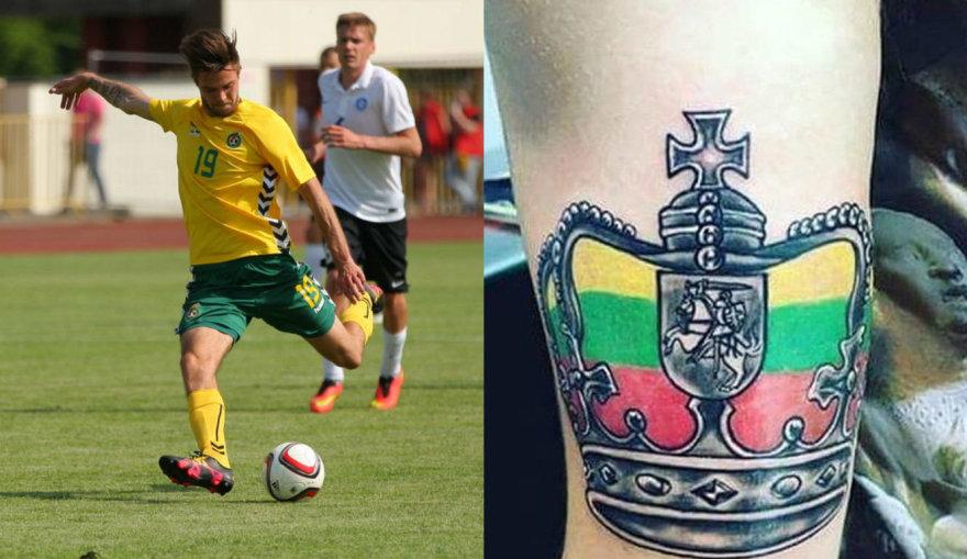 Luko Spalvio tatuiruotė
