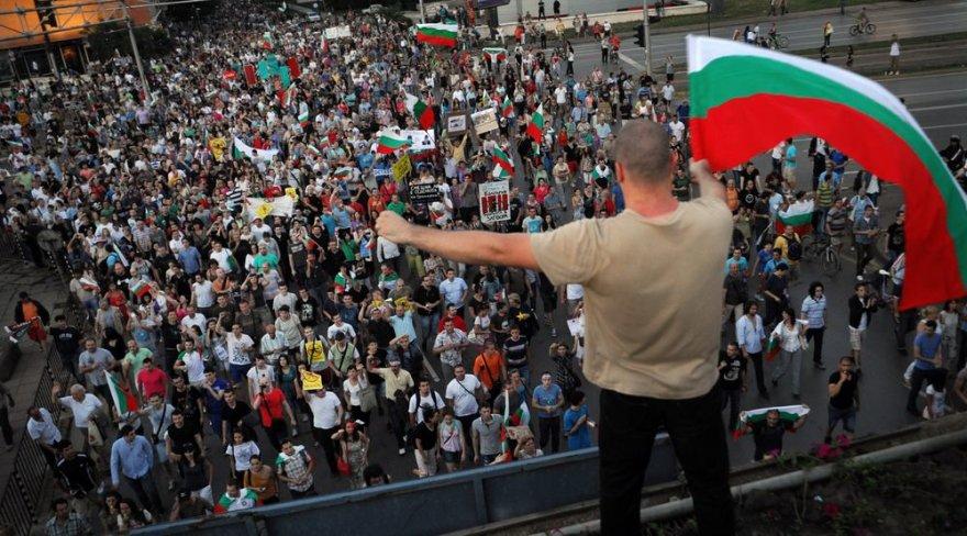 Protestas Bulgarijoje.