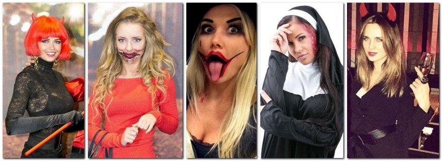 Helovino nuotaika užsikrėtė ir žinomos moterys
