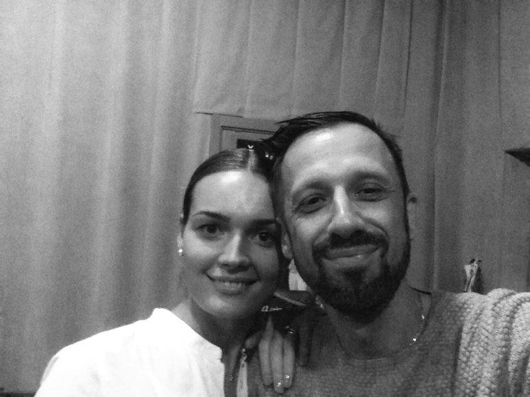 Linas Adomaitis ir Jurgita Jurkutė-Širvaitė