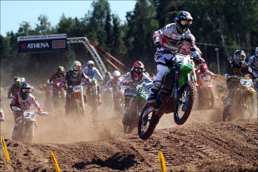 Pasaulio motokroso čempionato varžybos Latvijoje