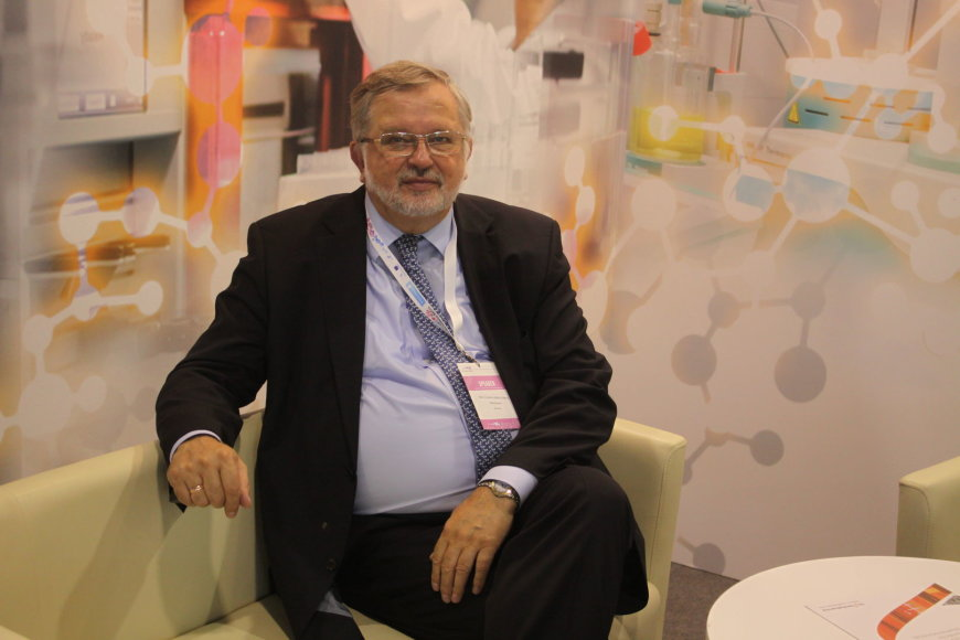 "Prof. Vladas Algirdas Bumelis konferencijoje ""Life Sciences Baltics 2014"""