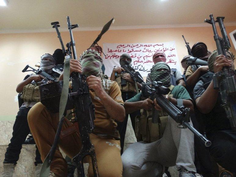 """Irake ir Sirijoje vyksta intensyvi kova su """"IS"""" džihadistais"""