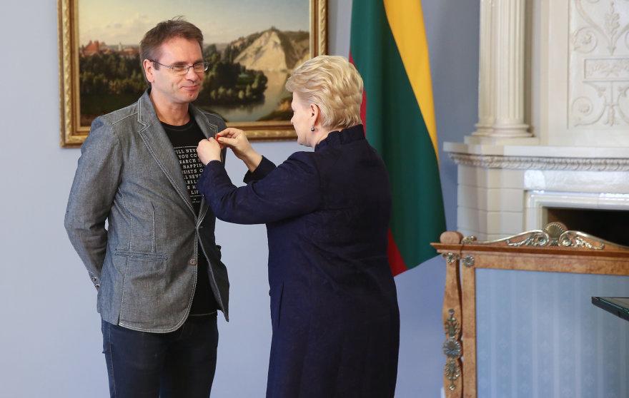 Marijus Mikutavičius ir Dalia Grybauskaitė
