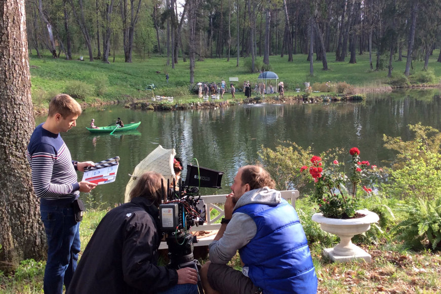 """""""Nuotykiai Naujoje Zelandijoje"""" filmavimas"""