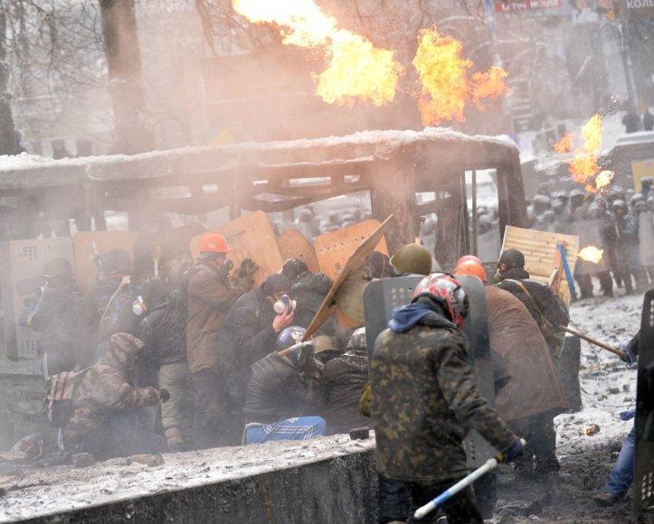 Trečiadienio neramumai Kijeve