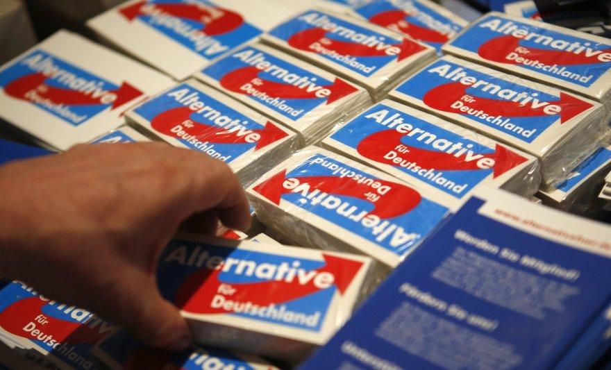 """""""Alternatyva Vokietijai"""" rinkiminė agitacija"""