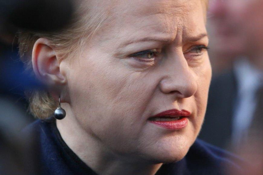 Prezidentė Dalia Grybauskaitė Šiaulių tardymo izoliatoriuje