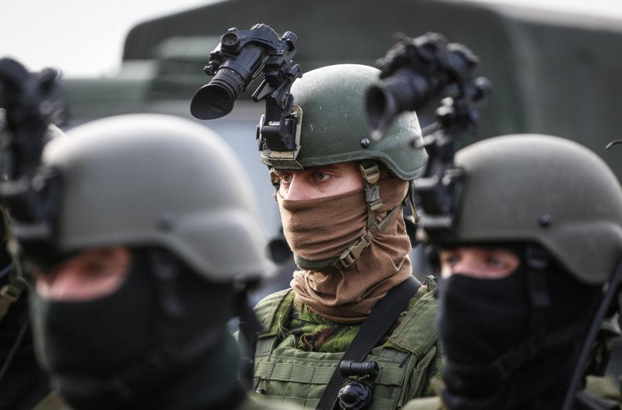 Specialiųjų operacijų pajėgų kariai taip pat yra Greitojo reagavimo pajėgoms.