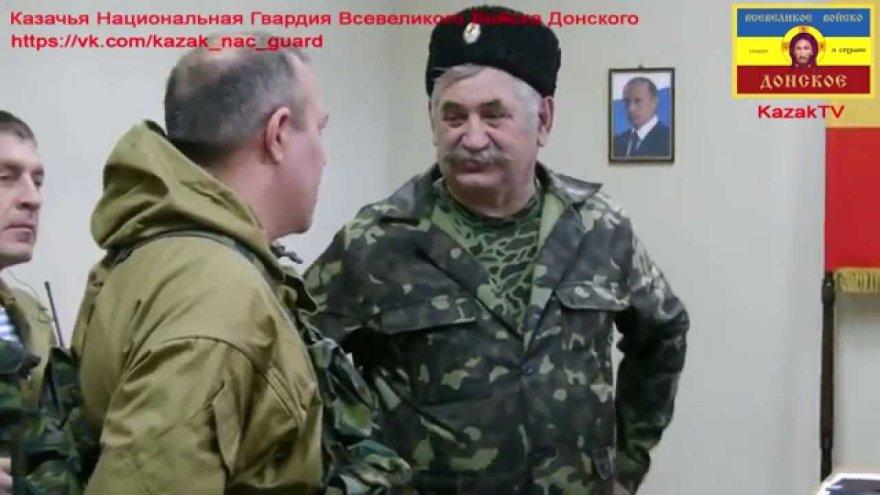 Kazokų atamanas Nikolajus Kozicynas