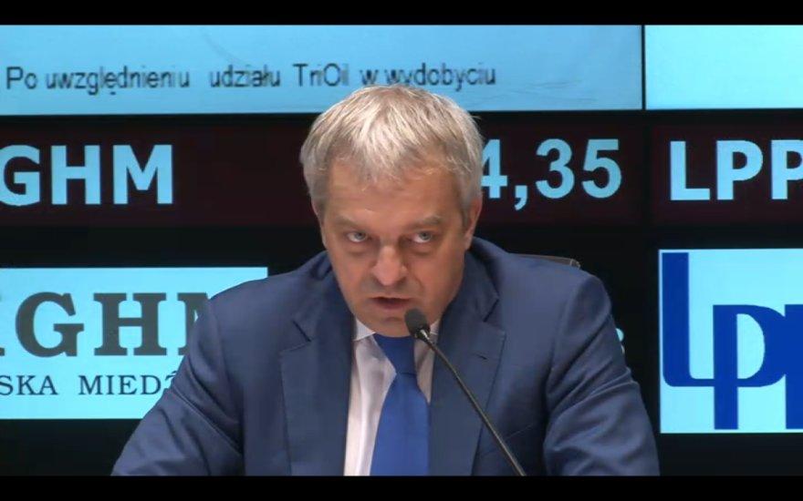 """""""PKN Orlen"""" vadovas Jacekas Krawiecas"""