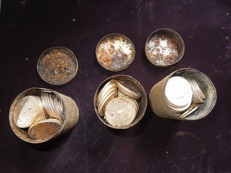 19-ojo amžiaus auksinės monetos
