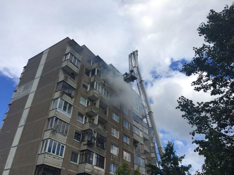 Gaisras Vilniuje, Stanevičiaus g. 55