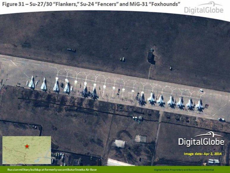 Rusijos pajėgos prie Ukrainos sienos