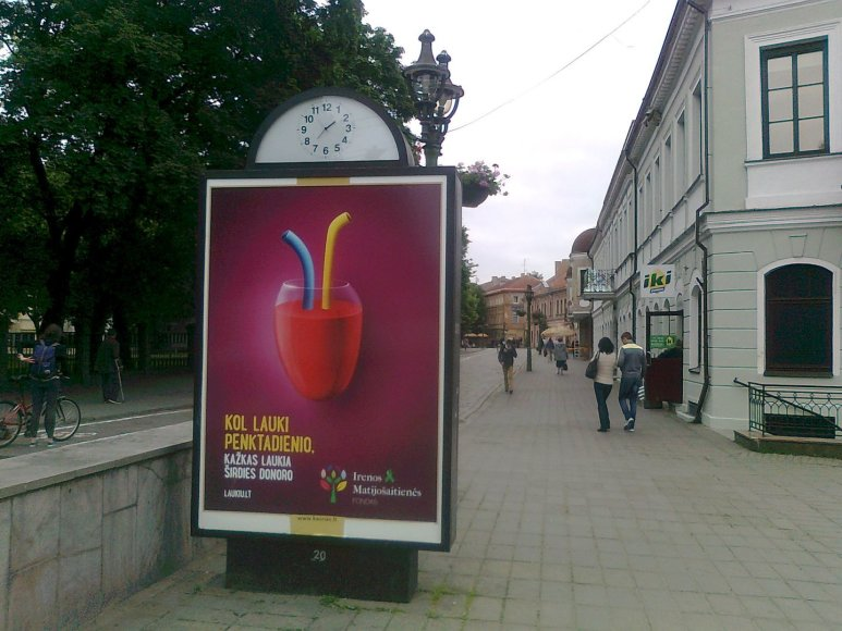 """Irenos Matijošaitienės fondas laimėjo auksinį apdovanojimą tarptautiniame reklamos festivalyje """"Golden Hammer"""""""