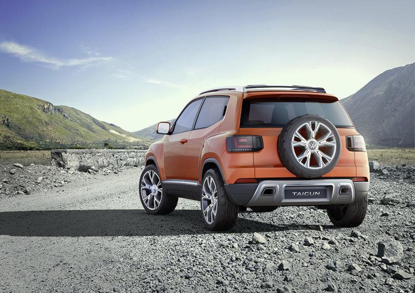 """Atnaujintas """"Volkswagen Taigun"""" konceptas"""