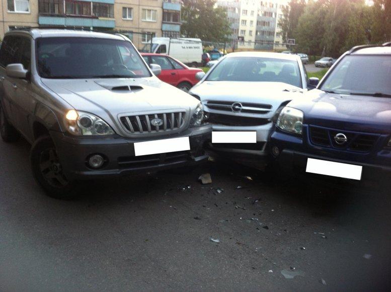 Apgadinti automobiliai
