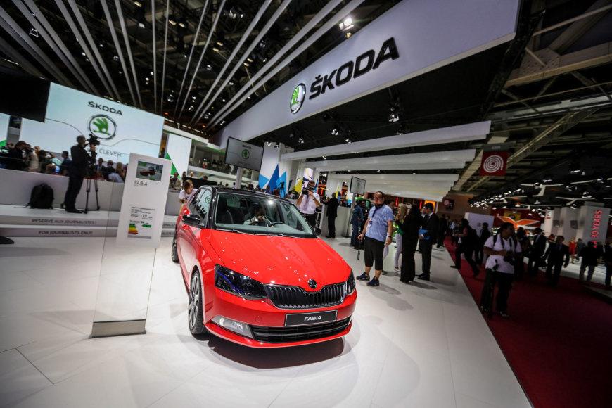 """Naujoji """"Škoda Fabia"""" Paryžiaus automobilių parodoje"""