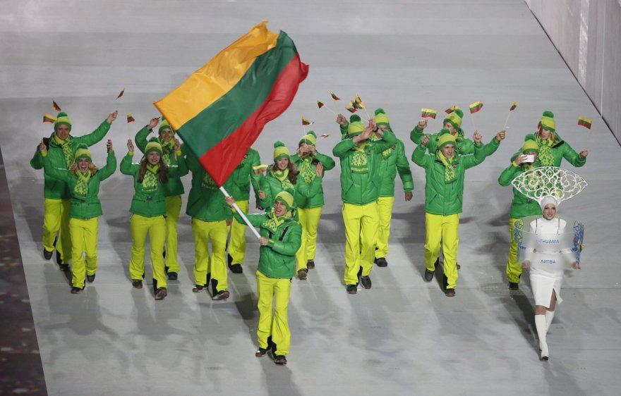 Lietuvos olimpiečiai Sočyje