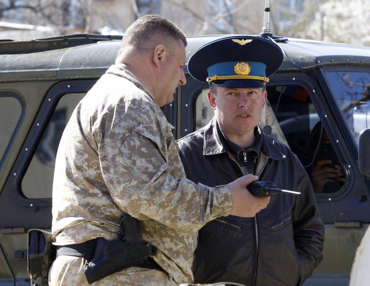 Ukrainos karinių pajėgų pulkininkas Julijus Mamčuras