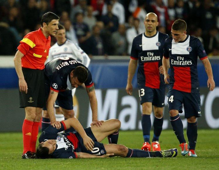 Zlatanas Ibrahimovičius susižeidė