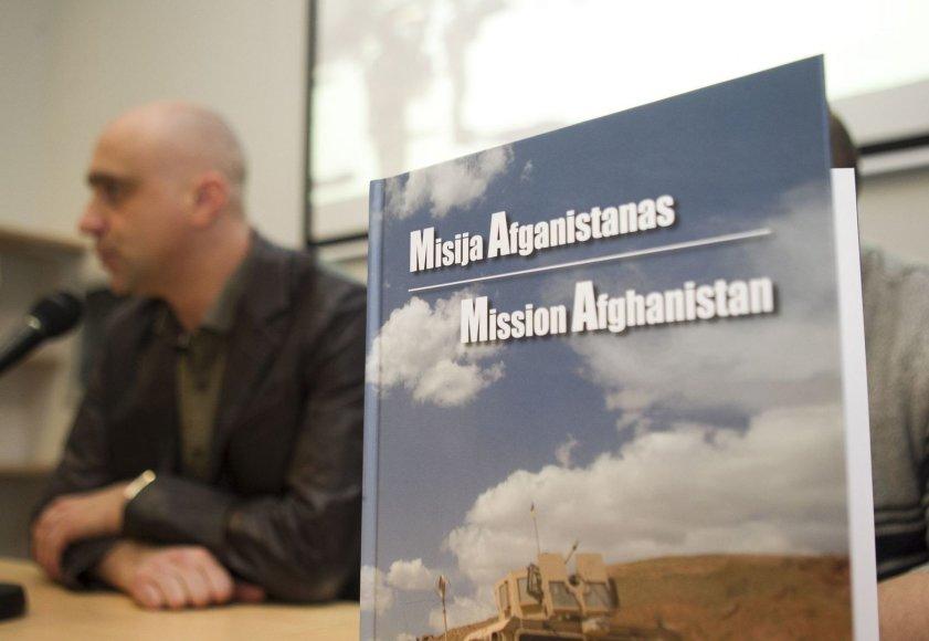 """Albumo """"Misija Afganistanas"""" pristatymas"""