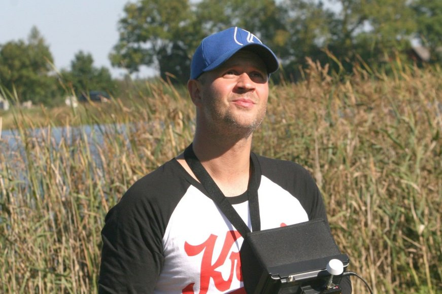 Lukas Pačkauskas mėgsta filmuoti iš skraidyklių