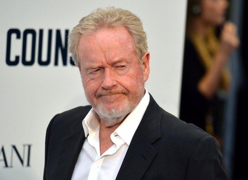 Ridley Scottas švenčia 76-ąjį gimtadienį