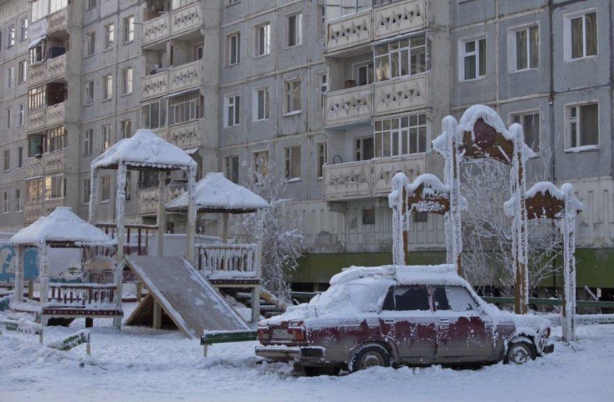 Vaikų žaidimų aikštelė Jakutske