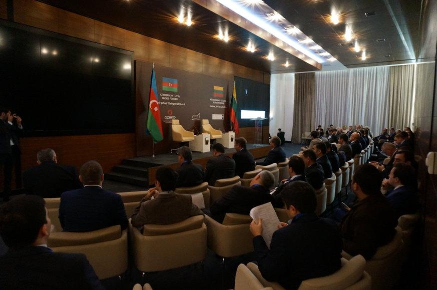 Lietuvos ir Azerbaidžano verslas imsis neišnaudotų galimybių
