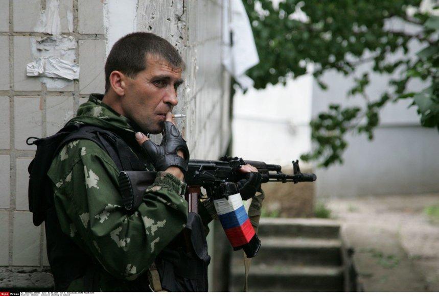 Teroristai kontroliuoja Luhansko miestą