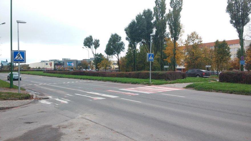 Klaipėdos pėsčiųjų perėjos
