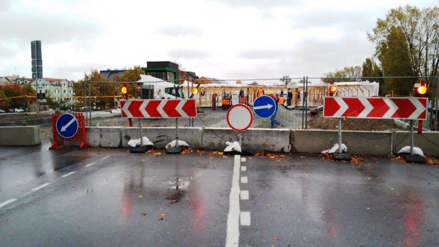 Klaipėdos Pilies tilto remontas turėtų baigtis prieš didžiąsias metų šventes