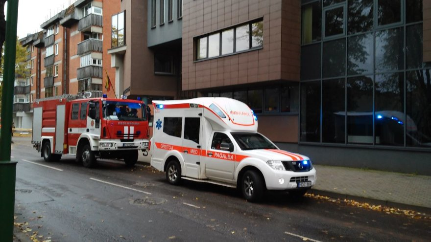Specialiąsias tarnybas ant kojų sukėlė pranešimas apie bombą šalia Klaipėdos apylinkės teismo