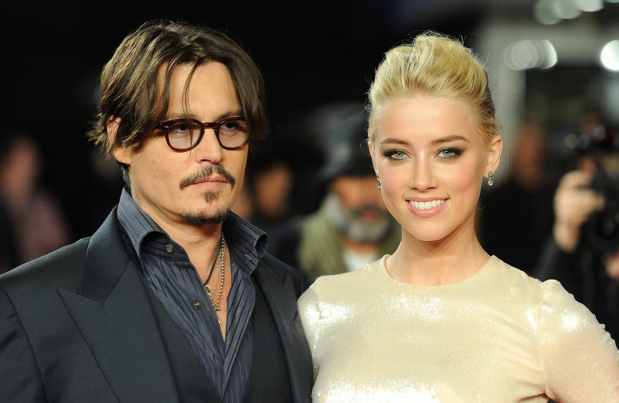 Johnny Deppas su Amber Heard