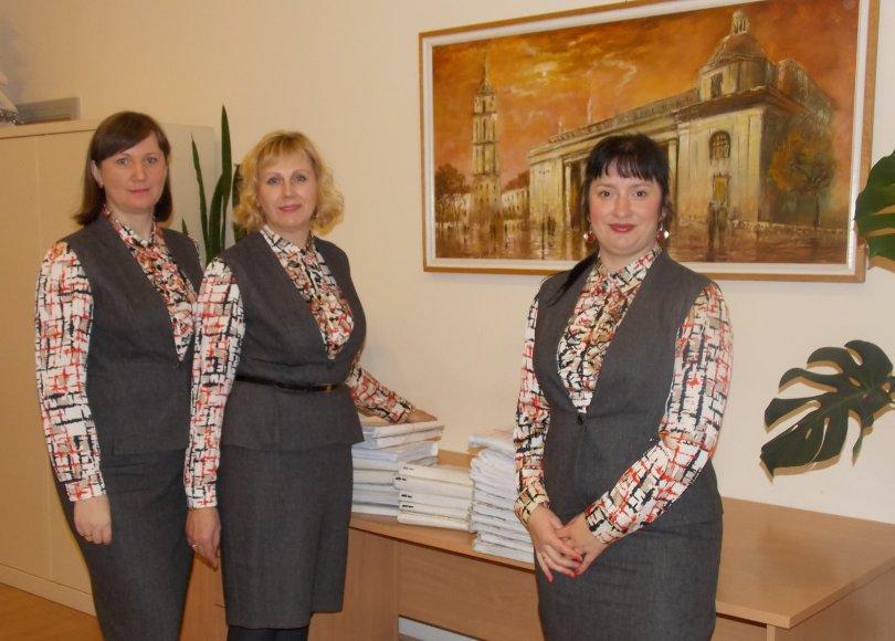 Aukščiausiojo Teismo bendrosios raštinės darbuotojos