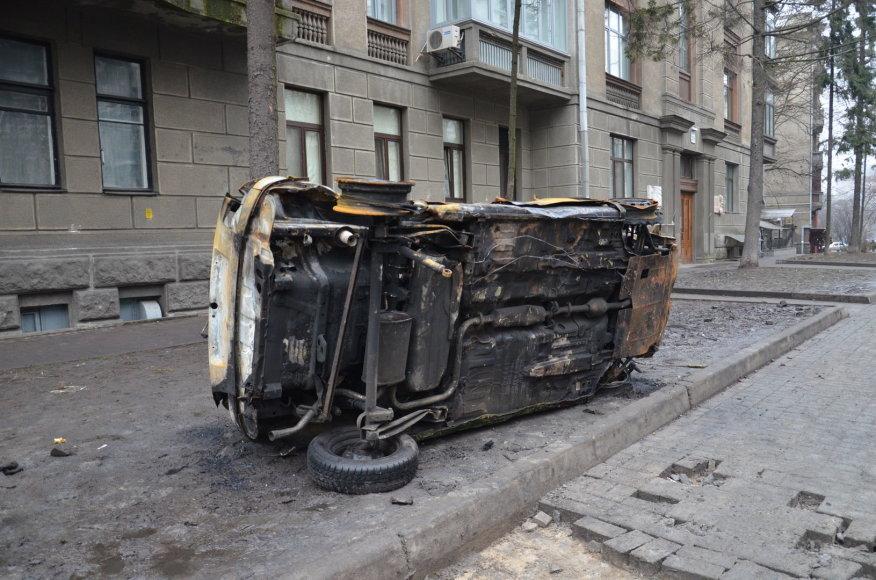 Lietuvio Pauliaus Važgausko kelionė į Maidaną 2014 m. vasario 25 d.