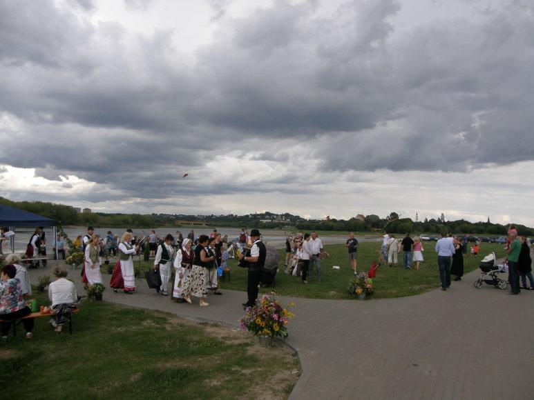 Marvelės bendruomenė šventė Žolinę ir minėjo Marvos dvaro 500 metų