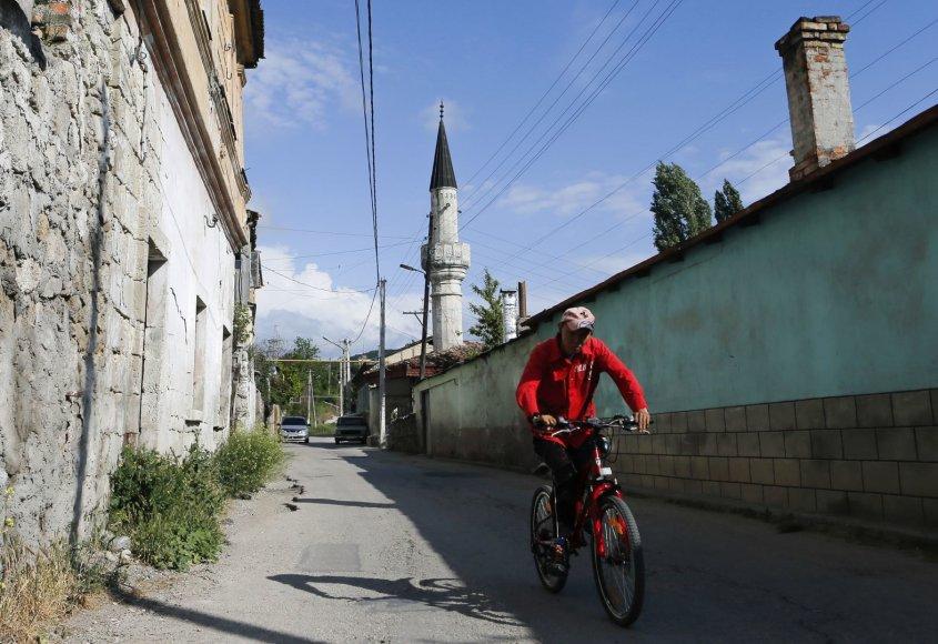 Okupuoto Krymo totoriai kenčia priespaudą