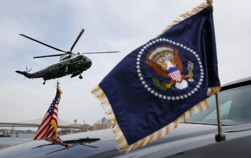 """Sraigtasparnis """"Marine One"""""""