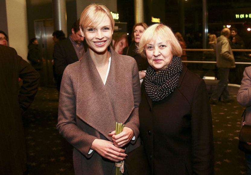 Aistė Stonytė-Budzinauskienė su mama Janina