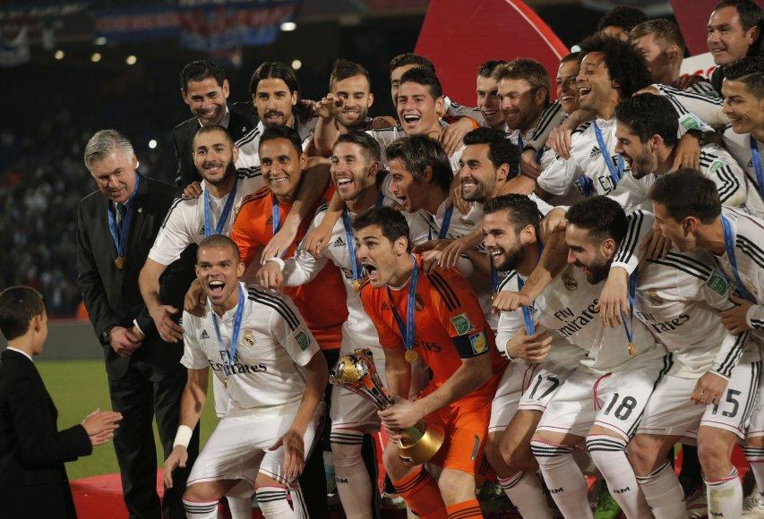 """""""Real"""" futbolininkai laimėjo pasaulio klubų taurę"""