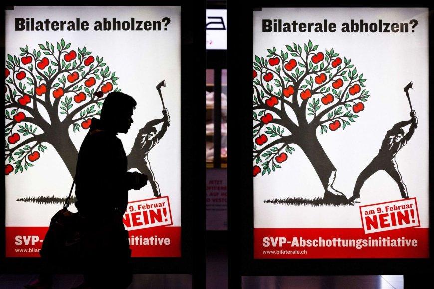 Referendumo Šveicarijoje agitacija