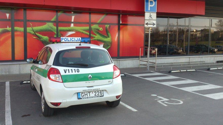 Policija prie RIMI