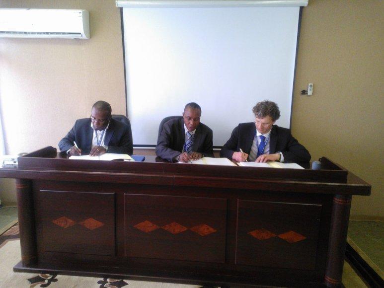 BAIP modernizuos Burundžio Centrinio banko duomenų centro infrastruktūrą