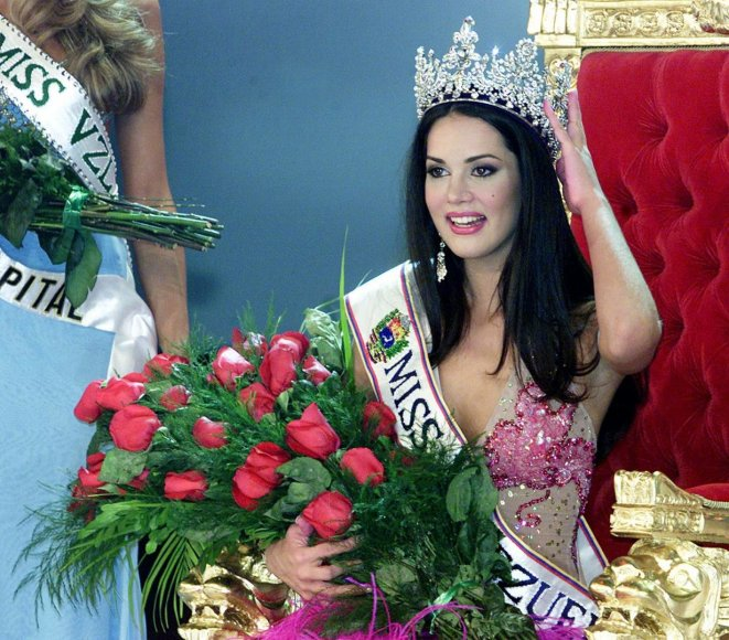 Monica Spear 2004-aisiais tapo Mis Venesuela
